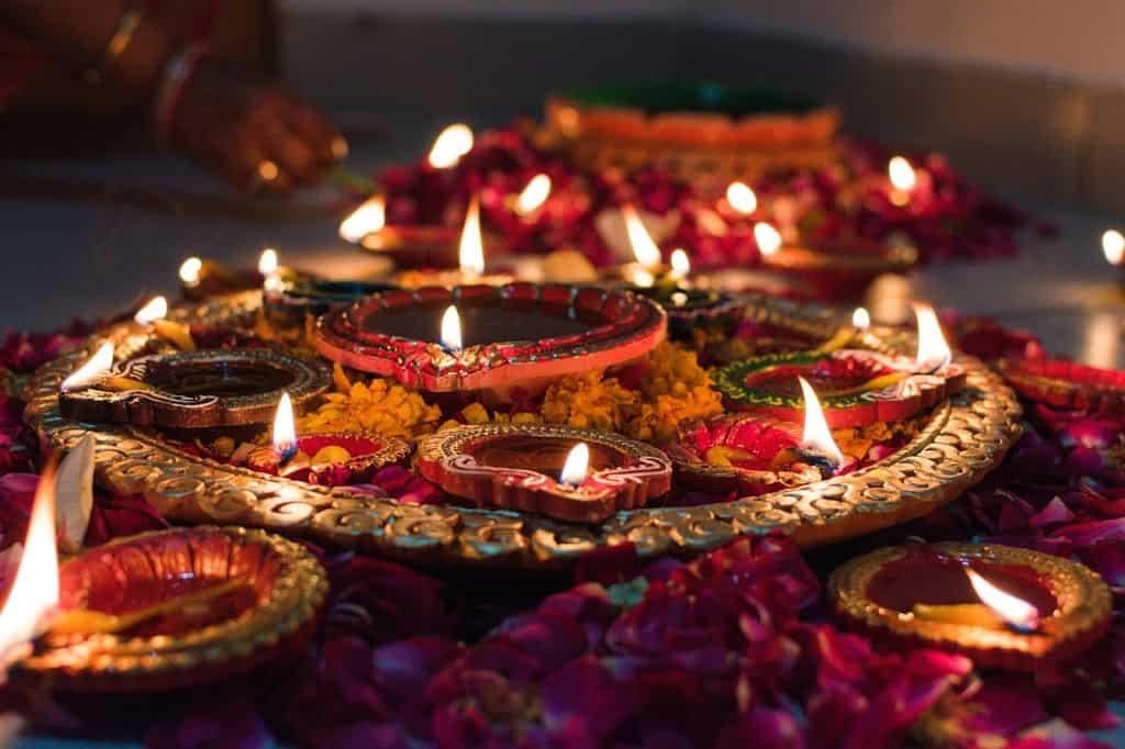 Diwali with facebook